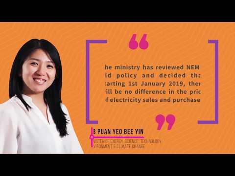 What is Malaysia NEM Solar Leasing & SARE? (2019 SEDA TNB ST MESTECC YB Yeo)