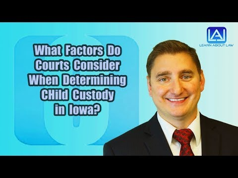 Factors Used to look for the Child custody of kids