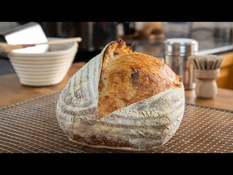 Easy Homemade Sourdough Bread | A Basic No Knead Recipe That Gives Amazing Results Every Time