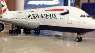 Gemini jets British Airways A380-800 Unboxing/review!