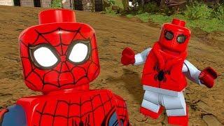 LEGO Marvel Super Heroes 2 - Spider-Man (Homemade Suit) Unlock + Free Roam Gameplay