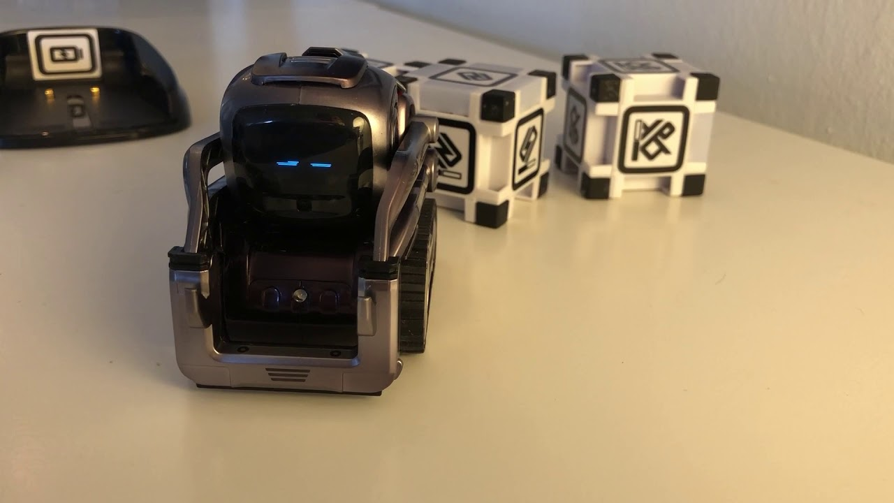 Anki Cozmo and Vector robots knew my name five months later