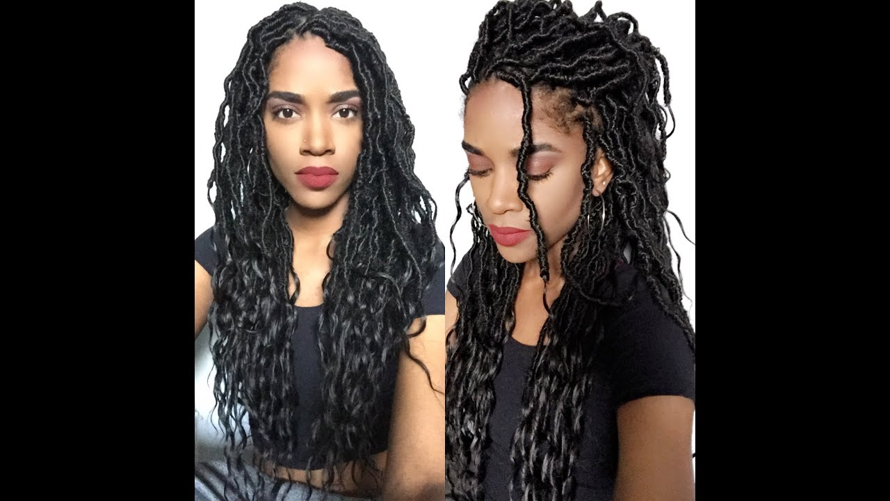 Thecurlrefinery Goddess Locs Review Youtube