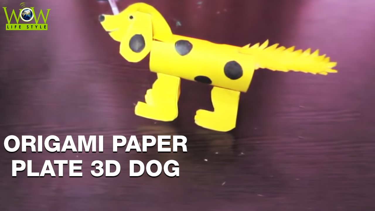 How to Make Paper Dog | Easy DIY Crafts Ideas | Crafts For Kids ...