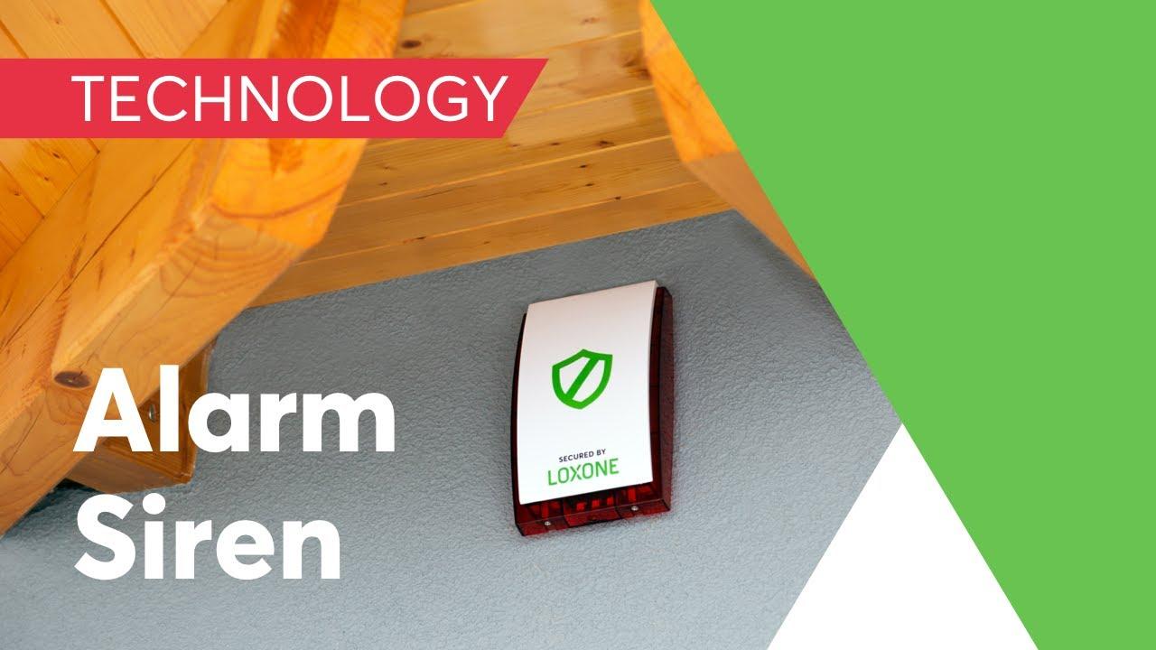 video Loxone Smartes Alarmsystem