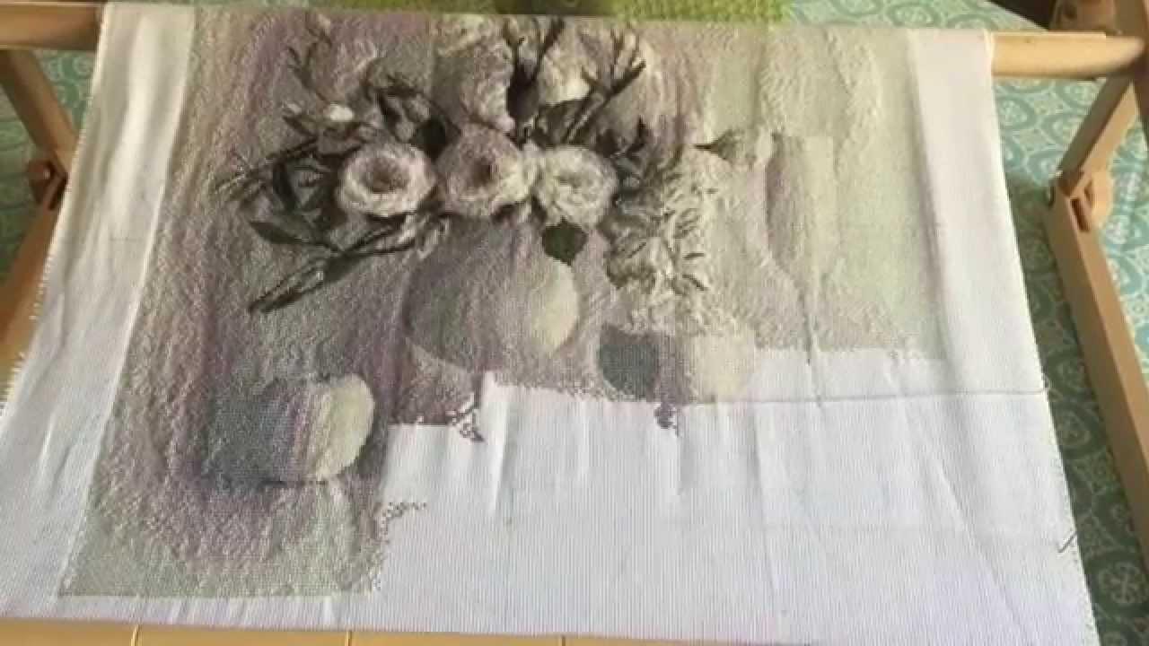 Юнона вышивки белый натюрморт