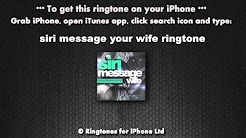 your wife calling ringtone iphone