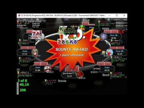 Как разрывать финалки на покер старс