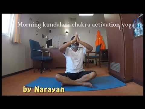 kundalini yoga morning chakra activation