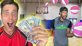 First to make the trickshot wins $20 *WATCH TIL THE VERY END!* Ft. Chris Staples