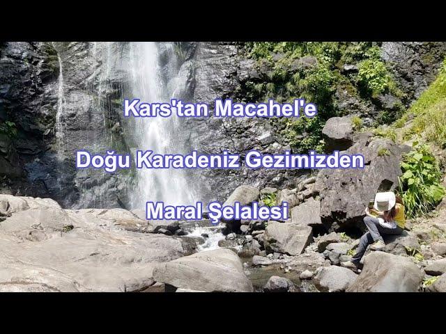 Kars'tan Macahel'e Doğu Karadeniz Gezimizden Maral Şelalesi
