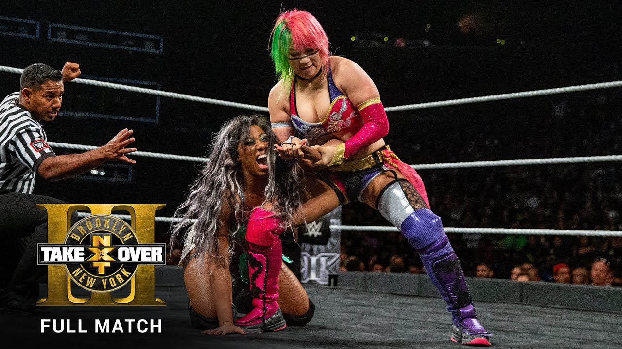 FULL MATCH - Asuka vs. Ember Moon - NXT Women's Title Match: NXT TakeOver: Brooklyn III