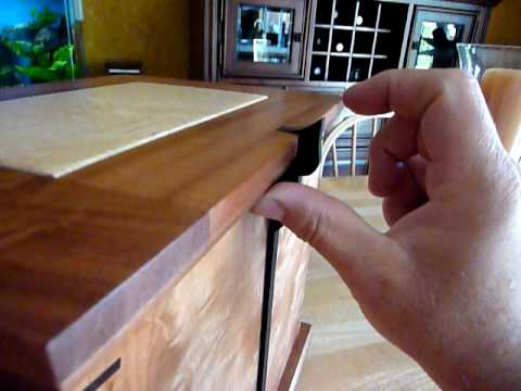Wooden Urn Box Latch Mechanism Youtube