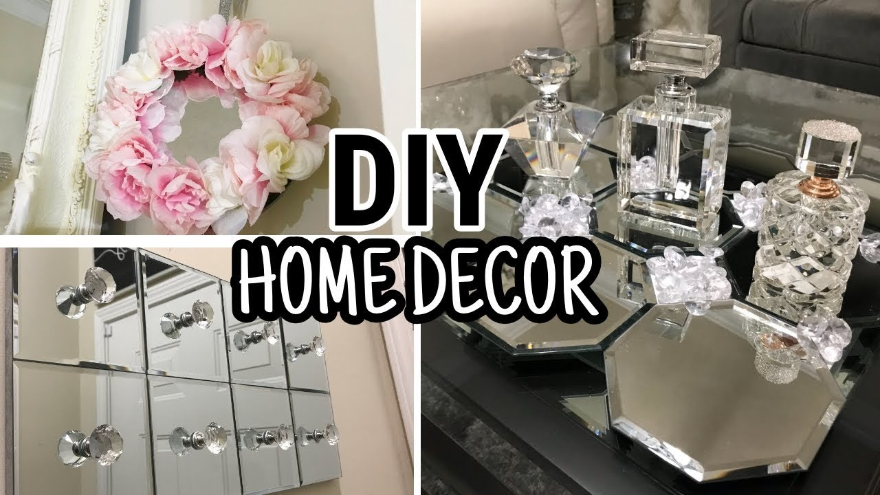 Diy Home Decor Ideas Dollar Tree Diy Mirror Decor 2018 Youtube