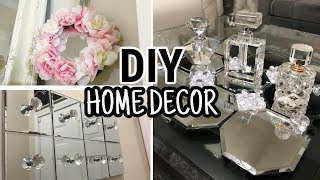 DIY Home Decor Ideas | Dollar Tree DIY Mirror Decor 2018