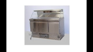 Ψυγείο Ψαριέρα Βιτρίνα - 3 Doors GN Refrigerated Display for Fresh Fish(, 2016-06-19T12:45:19.000Z)