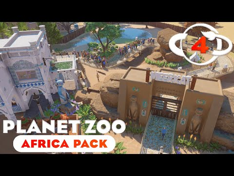 Planet Zoo: Africa Pack - Ep. 4 - Building Buildings |