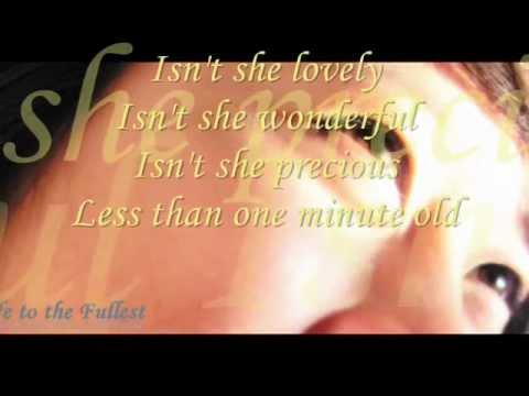 Stevie Wonder- Isn't She Lovely Acapella Cover (with lyrics)