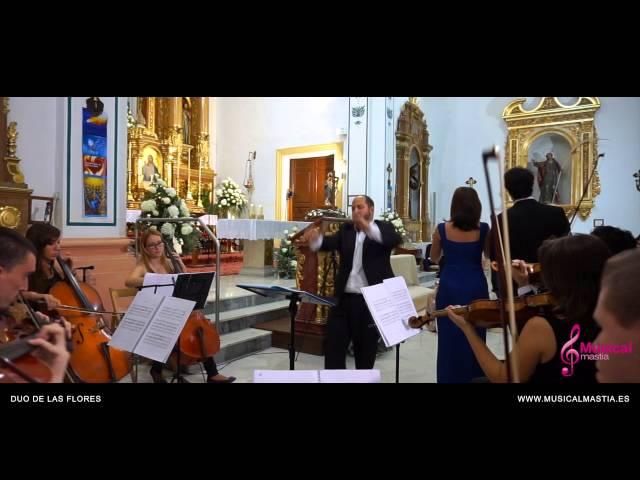 Duo de las flores LAMKE DELIBES Bodas Alicante Wedding Tenor y soprano