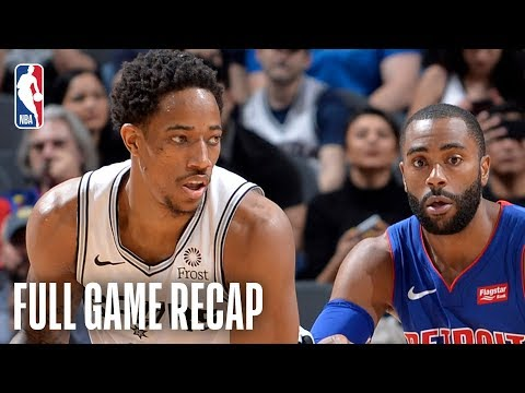 SPURSWATCH - Spurs Breeze Past Pistons