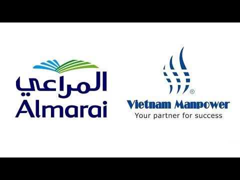 Vietnam Manpower's Recruitment Campaign for Almarai