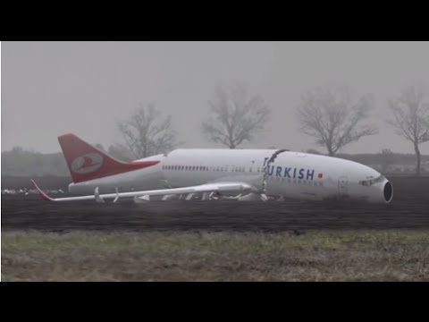 4971aefbfd Animation - Turkish Airlines crashed during approach