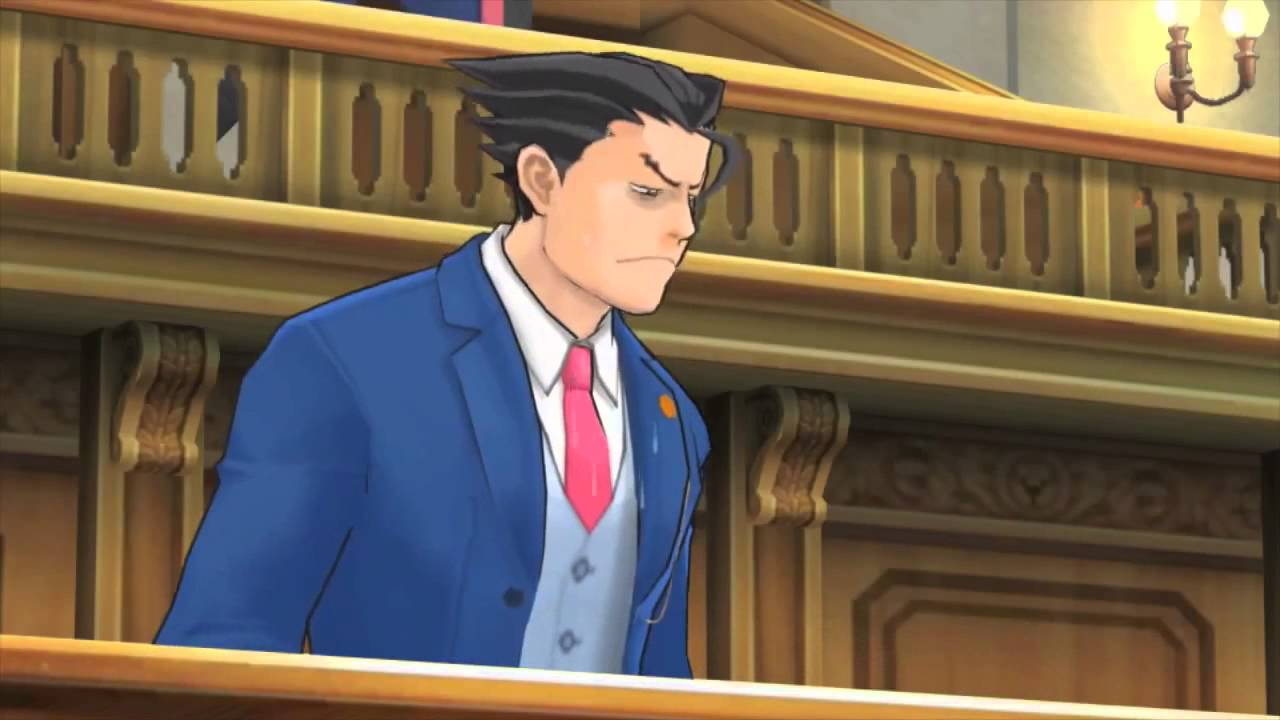 Phoenix Wright Ace Attorney Dual Destinies Trailer Objection Hd