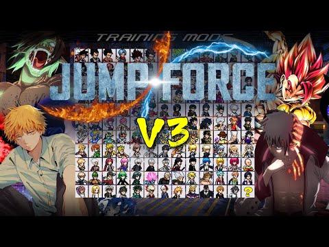 Jump Force Mugen V3 (OpenGL/DirectX) - Download