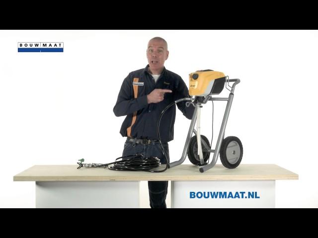 Bouwmaat product bespreking - Wagner Pro 350M verfspuit
