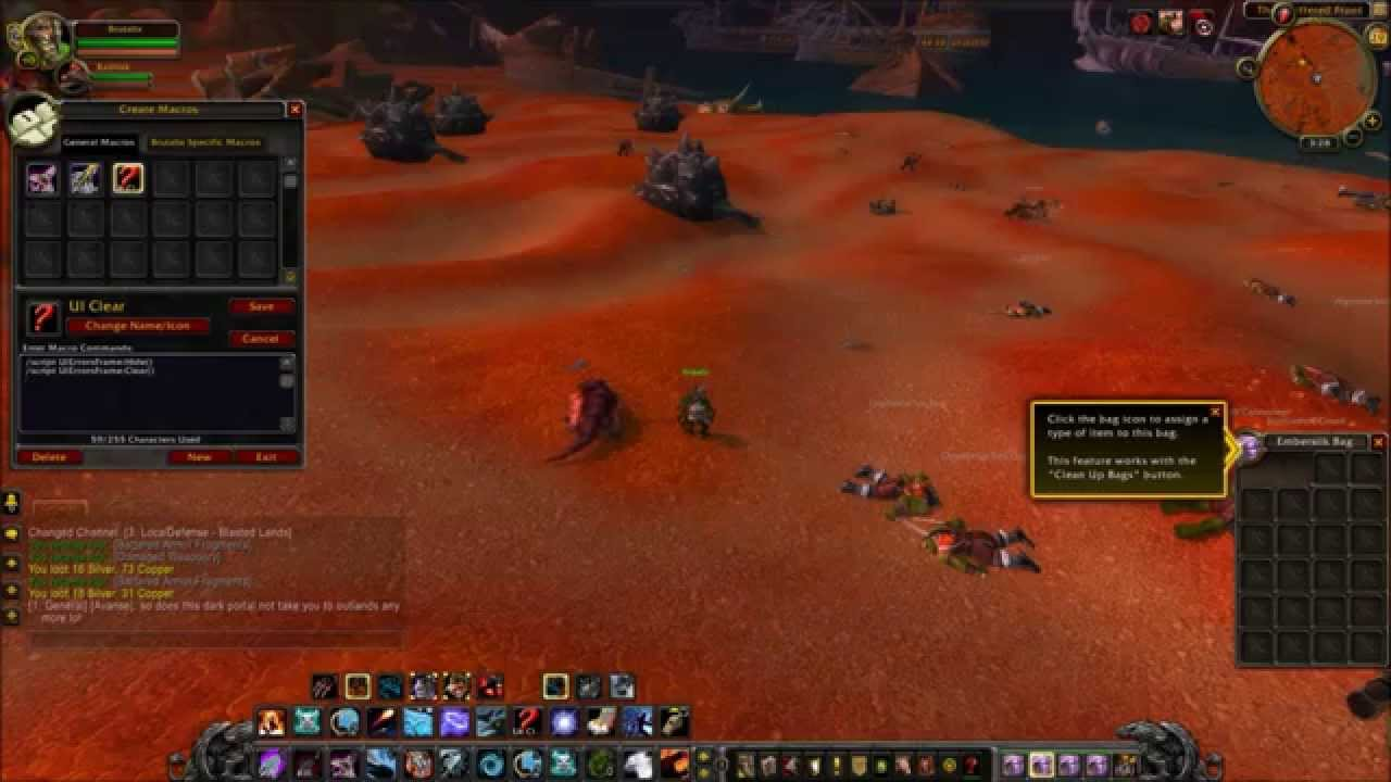 [WoW Guide] How to Get Rid of the Red Error Text Error in World of Warcraft  Without Addons