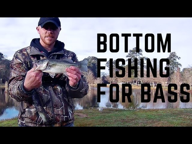 Bottom Fishing for ... Bass! We go to March's Pond.