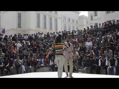 Bits Pilani || Cultural Fest 2017 || Best College girl and boy dance ever