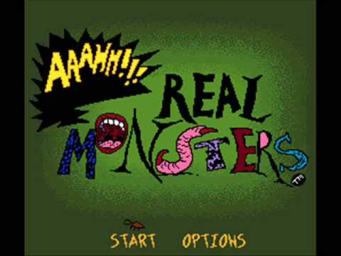 AAAHH!!! Real Monsters SNES Title Music