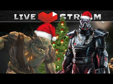 SWTOR Gameplay with Christmas eXtra Power (CXP) Boost ON | Live Stream