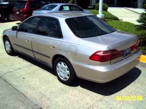 2000 Honda Accord Sdn 4dr Sdn Lx Auto Harvey New Orleans
