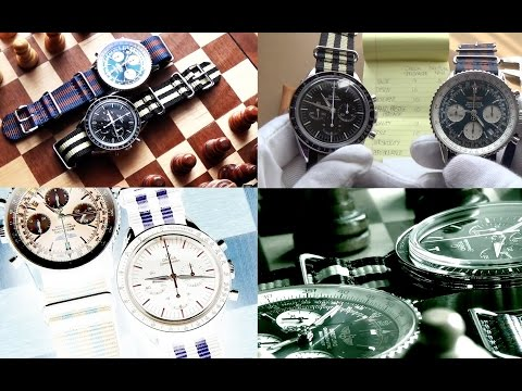 Clash Of The Iconic Luxury Chronographs  - Omega Speedmaster Vs Breitling Navitimer Watch Duel