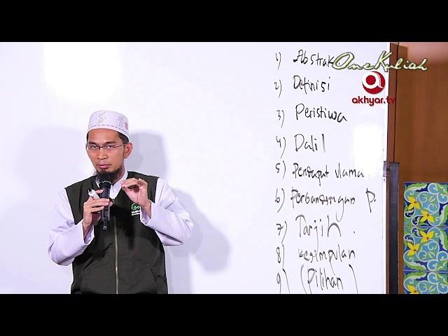 Adi Hidayat, Lc MA-Muzik Itu Apa dan Apa Hukumnya