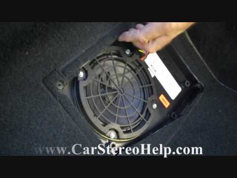 Bose Car Speakers >> Corvette Bose Rear Speaker and Amplifier Removal - YouTube