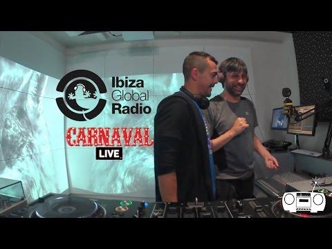 EPI en IBIZA GLOBAL RADIO || CARNAVAL LIVE  ||
