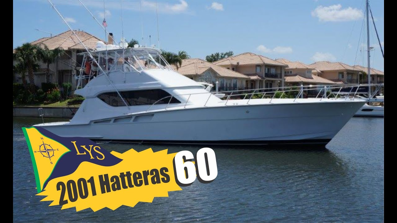 2001 Hatteras 60 Sport Fishing Yacht For Sale At Little Sales