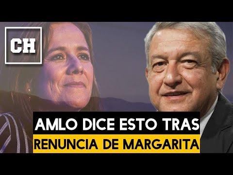 AMLO dice esto a Margarita Zavala tras su RENUNCIA - Carlos Chavira