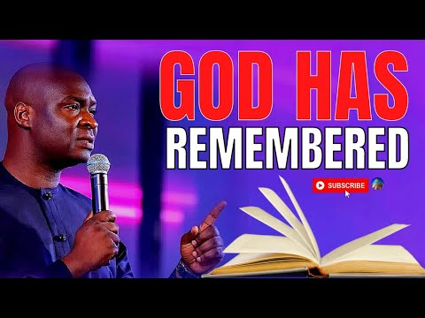 Download GOD HAS REMEMBERED, YOUR BOOK OF UNCOMMON FAVOR IS OPEN   APOSTLE JOSHUA SELMAN