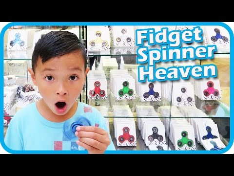 Thumbnail: FIDGET SPINNER Toy Hunt at Shopping Mall, I Got 3 FREE Fidget Spinners and a Case – TigerBox HD