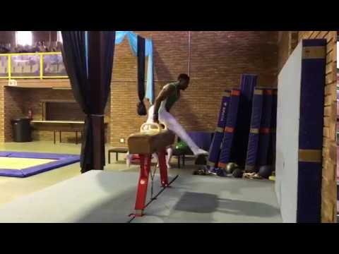 Uche Eke Wins Gold Medal for Nigeria in Gymnastic at South Africa, Part 3