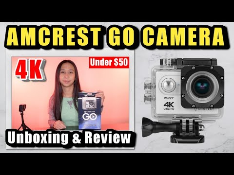 Affordable 4K Action Camera: Unboxing & Review