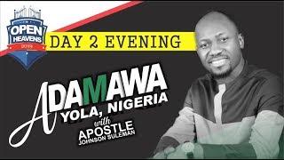 OPEN HEAVENS JIMETA YOLA, ADAMAWA Day 2 Evening With Apostle Johnson Suleman thumbnail