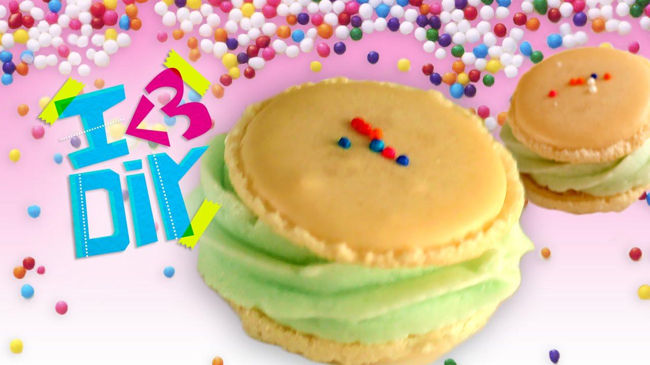 Birthday Cake Macarons With SweetEmelyne