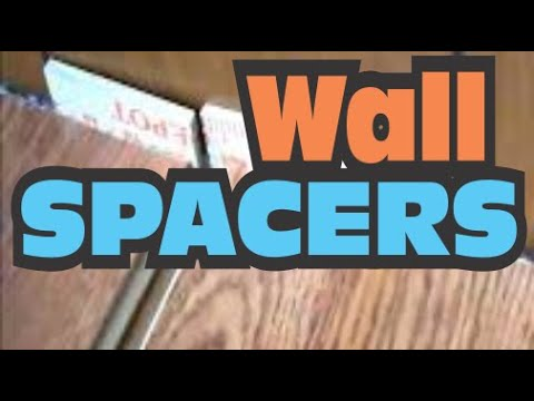Wall Spacers For Laminate Floor From Yardsticks Youtube