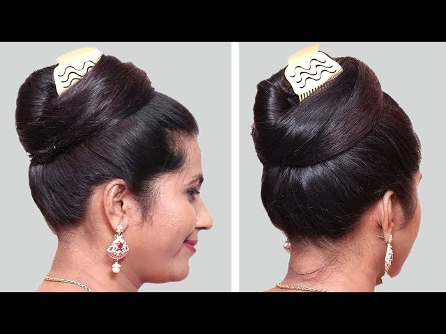 6 Quick And Easy Juda Hairstyle With Bun Hairstyle Hairstyles