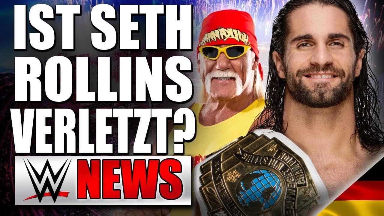 Seth Rollins Verletzung